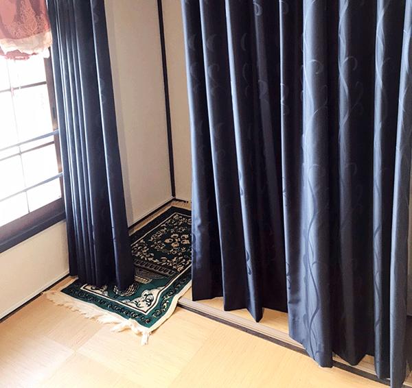 1人用の礼拝スペース