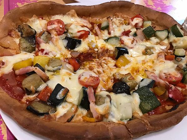 ベジタブルミックスピザ