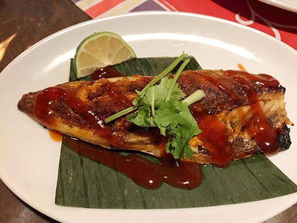 マレーシア風焼き魚