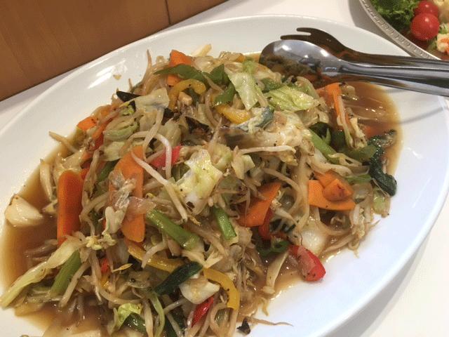 野菜炒め(試食会用メニュー)