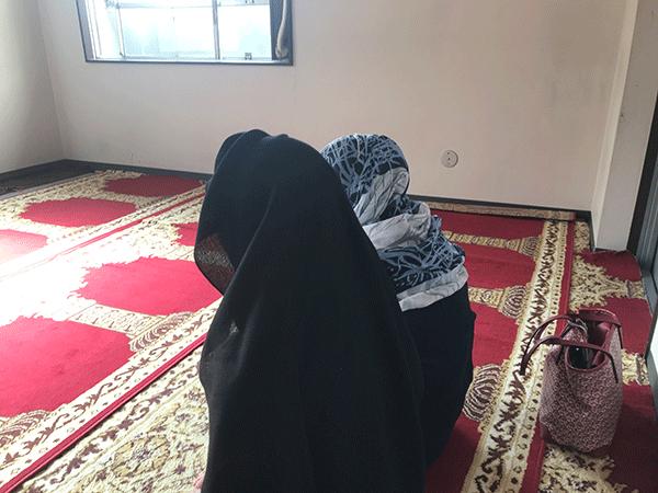 4階にあるモスク