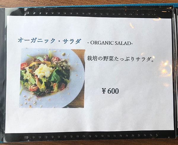 オーガニックサラダ