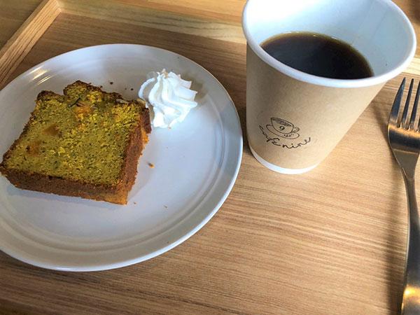 グルテンフリーめぐみの里さんのかぼちゃのパウンドケーキ