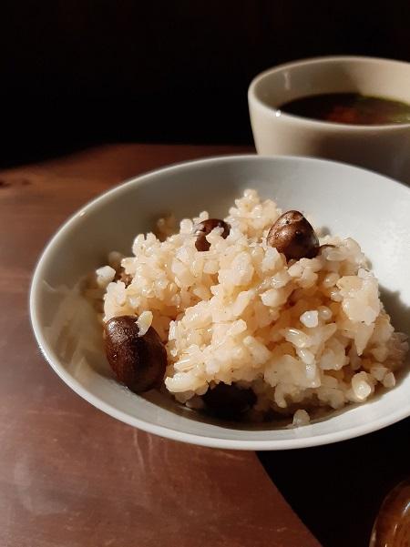 """むかごのホクホクと玄米のプチプチ食感が楽しい"""""""