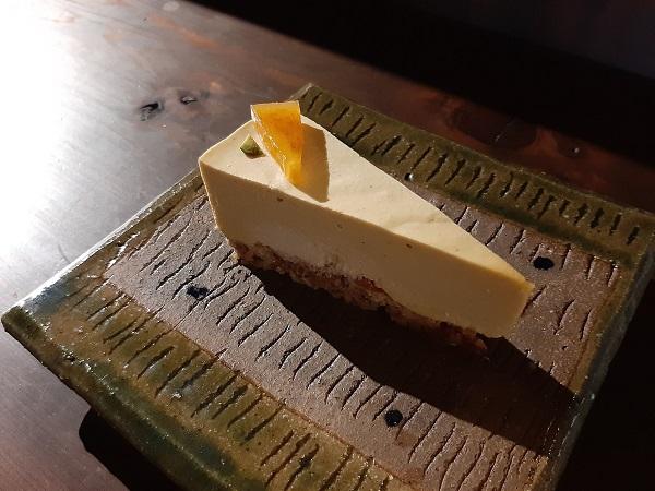 ナッツの風味がチーズのよう