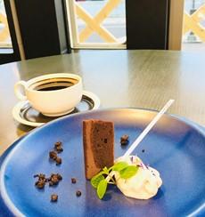 Dessert 米粉のパフケーキ