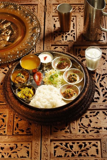 Bhorta Bhaji Set