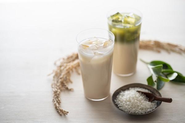 お米ラテプレーン&煎茶
